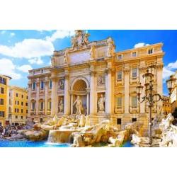 ข้อมูลเที่ยวอิตาลี : น้ำพุเทรวี่ (Trevi fountain)