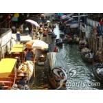 Floating Market & Crocodile Farm & Elephant shows