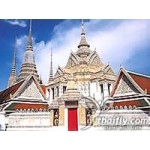 Temples Tour visit three major temples combined with canal tour in Bangkok(PKG0887)
