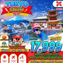 ทัวร์ญี่ปุ่น โตเกียว ดิสนีย์แลนด์ ออนเซ็น บุฟเฟต์ขาปูยักษ์ [FEB] 4วัน 3คืน บิน THAI AIR ASIA X