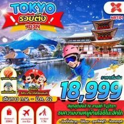 ทัวร์ญี่ปุ่น โตเกียว ดิสนีย์แลนด์ ออนเซ็น บุฟเฟต์ขาปูยักษ์ [MAR] 4วัน 3คืน บิน THAI AIR ASIA X