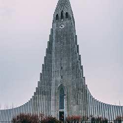 ข้อมูลเที่ยวไอซ์แลนด์ : โบสถ์ฮัลล์กรีมสคิร์คยา (Hallgrimskirkja)