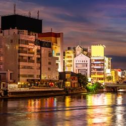 ข้อมูลเที่ยวญี่ปุ่น : ย่านเทนจิน (Tenjin)