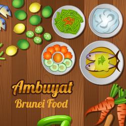 ข้อมูลเที่ยวบรูไน : อาหารขึ้นชื่อของประเทศบรูไน (อัมบูยัต Ambuyat)
