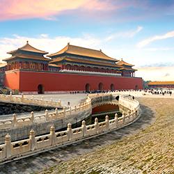 """ข้อมูลเที่ยวจีน : พระราชวังต้องห้าม """"กู้กง"""""""