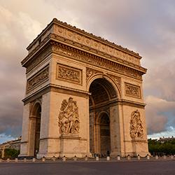 ข้อมูลเที่ยวฝรั่งเศส : ประตูชัยฝรั่งเศส