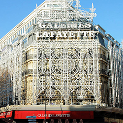ข้อมูลเที่ยวฝรั่งเศส : ห้างแกลเลอรี่ ลาฟาแยตต์ (Galleries Lafayette)