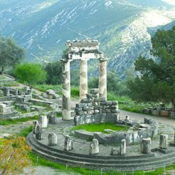 ข้อมูลเที่ยวกรีซ : เมืองเดลฟี (Delphi)