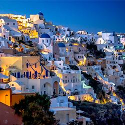 ข้อมูลเที่ยวกรีซ : ซานโตรินี ( Santorini )