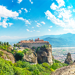 ข้อมุลเที่ยวกรีซ :  เมืองกาลาบากา เมทีโอร่า เทสซาลี่ กรีซ Thessaly