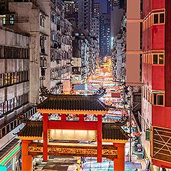 ข้อมูลเที่ยวฮ่องกง : ตลาดกลางคืนเทมเปิล สตรีท