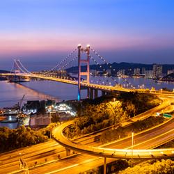 ข้อมูลเที่ยวฮ่องกง : สะพานแขวนซิงหม่า (TSING MA BRIDGE)