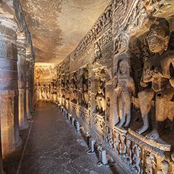 ข้อมูลเที่ยวอินเดีย : ถ้ำอชันตา (Ajanta Caves)