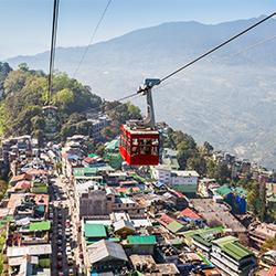 ข้อมูลเที่ยวอินเดีย : ข้อมูลทั่วไปของเมืองกังต็อก (Gangtok)