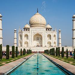 ข้อมูลเที่ยวอินเดีย : ทัชมาฮาล สัญลักษณ์แห่งรักนิรันดร์