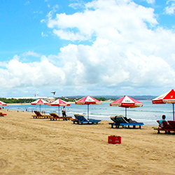 ข้อมูลเที่ยวอินโดนีเซีย : หาดกูตา ( Kuta Beach)