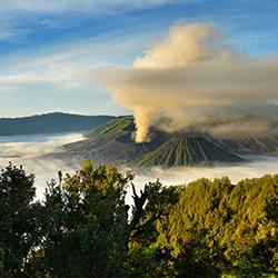 ข้อมูลเที่ยวอินโดนีเซีย : ภูเขาไฟโบรโม (Mount Bromo)