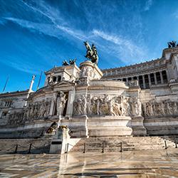 ข้อมูลเที่ยวอิตาลี : อนุสาวรีย์กษัตริย์วิคเตอร์