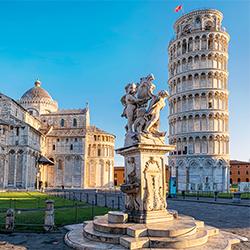 ข้อมูลเที่ยวอิตาลี :  เมืองปิซา (Pisa)