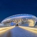 ข้อมูลเที่ยวเกาหลี : ดงแดมุน (Dongdaemun Design Plaza and Park)