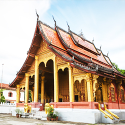 ข้อมูลเที่ยวลาว : วัดแสนสุขาราม (WatSaensukkaram)