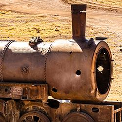 ข้อมูลเที่ยวลาว : หัวรถจักรโบราณ