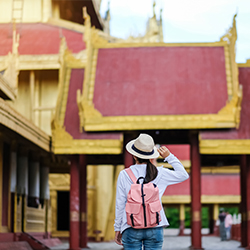 ข้อมูลเที่ยวพม่า : พระราชวังพระเจ้าบุเรงนอง ผู้ชนะสิบทิศ !!