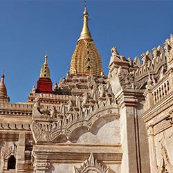 ข้อมูลเที่ยวพม่า : อานันทวิหาร (Ananda Phaya) อัญมณีแห่งพุกาม