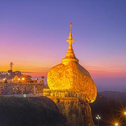 ข้อมูลเที่ยวพม่า : พระธาตุอินทร์แขวน หรือ ไจทีโย