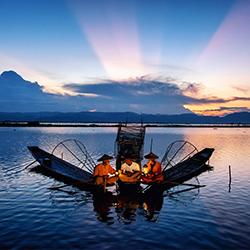 ข้อมูลเที่ยวพม่า : ทะเลสาบอินเล (Inle Lake)