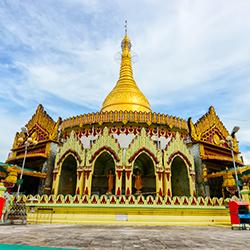 ข้อมูลเที่ยวพม่า : เจดีย์กาบาเอ (KaBa Aye Pagoda) กรุงย่างกุ้ง