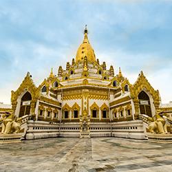 ข้อมูลเที่ยวพม่า : วัดพระหินขาว และ พระเจดีย์ไจปุ่น(Kyaikpun Pagoda)