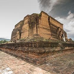 ข้อมูลเที่ยวพม่า : เจดีย์มิงกุน