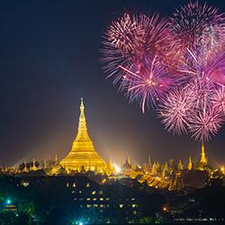 รู้ไว้ก่อนไปเที่ยว : กิจกรรมวันปีใหม่ของชาวพม่า
