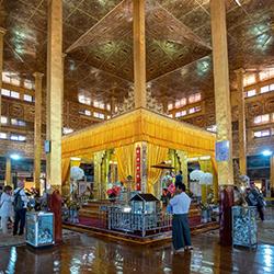 ข้อมูลเที่ยวพม่า : พระบัวเข็ม วัดผ่องเตาอู
