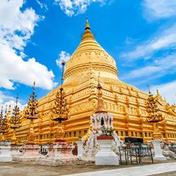 ข้อมูลเที่ยวพม่า : พระมหาธาตุเจดีย์ชเวซีโกน