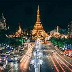 ข้อมูลเที่ยวพม่า : เจดีย์สุเหร่ (Sule pagoda)