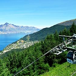 ข้อมูลเที่ยวนิวซีแลนด์ : นั่งกระเช้าลอยฟ้ากอนโดล่า (Gondola )