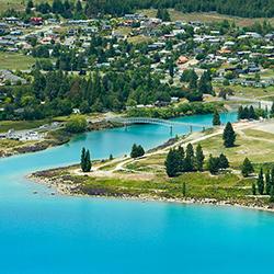 ข้อมูลเที่ยวนิวซีแลนด์ : ทะเลสาปเทคาโป (Lake Tekapo)