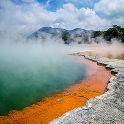 ข้อมูลเที่ยวนิวซีแลนด์ : เมืองโรโตรัว (Rotorua)
