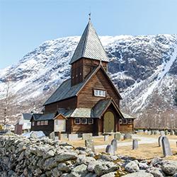 ข้อมูลเที่ยวนอร์เวย์ : โบสถ์โรลดัล สเตฟ (Roldal stave church)