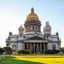 ข้อมูลเที่ยวรัสเซีย : มหาวิหารเซนต์ไอแซค (St. Isaac's Cathedral)