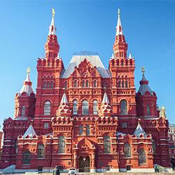 ข้อมูลเที่ยวประเทศรัสเซีย : จัตุรัสเเดง (Red Square)