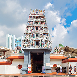 ประเทศสิงคโปร์ : ศรีมาริอัมมันต์ วัดฮินดูในสิงคโปร์