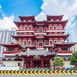 ข้อมูลเที่ยวสิงคโปร์ : วัดพระเขี้ยวแก้ว (Tooth Relic Buddha Temple)