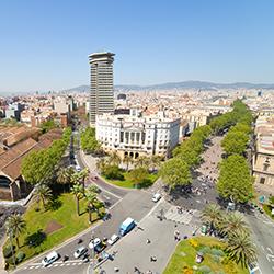 ข้อมูลเที่ยวสเปน : ถนนลารัมบลาส (La Ramblas)