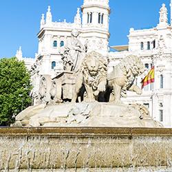 ข้อมูลเที่ยวสเปน : อนุสาวรีย์น้ำพุไซเบเลส