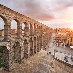 ข้อมูลเที่ยวสเปน : เมืองเซโกเบีย (Segovia)