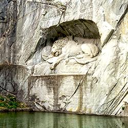 ข้อมูลเที่ยวสวิตเซอร์แลนด์ : อนุสาวรีย์สิงโต Lion Monument