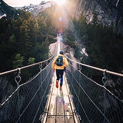ข้อมูลเที่ยวสวิตเซอร์แลนด์ : สะพานทริฟท์  Trift Bridge
